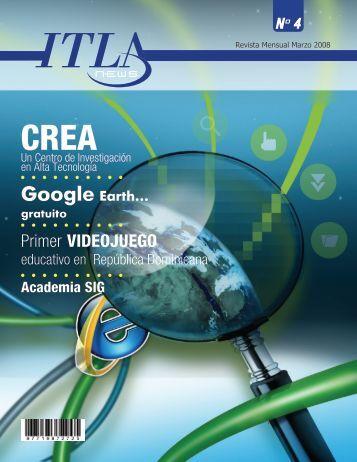 Revista ITLA NEWS Marzo 2008