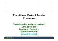 Vækst og fremgang i Tønder Kommune