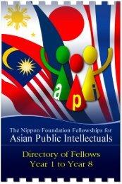 Directory of API Fellows Year 1-8 - Api-fellowships.org