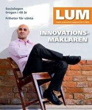 LUM nr 9 2010 (PDF 11 MB Nytt fönster) - Humanekologi Lunds ...