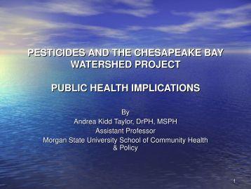 Impact of Pesticides on Public Health