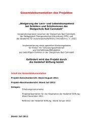 Gesamtdokumentation Heidehof-Projekt - ASI