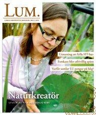 LUM 2 – 2013 - Humanekologi Lunds universitet