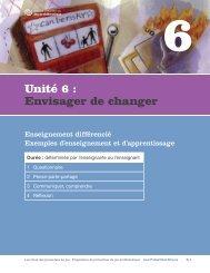 Unité 6 : Envisager de changer - ProblemGambling.ca
