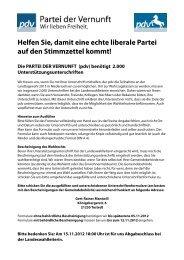 Ausfüllhilfe Unterstützungsunterschriften neu - Partei der Vernunft in ...