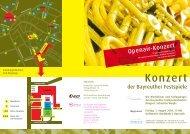 Konzert - Bayreuther Festspiele