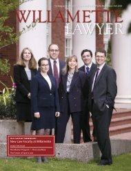 New Law Faculty at Willamette - Willamette University