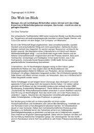 Der Tagesspiegel, Sina Tschacher, 6. Dezember 2009 - MBA ...
