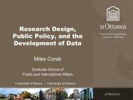 Academic rigour - Economics for public policy