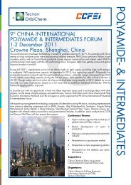 ChINA INTERNATIONAL POLYAMIDE ... - FiberSource