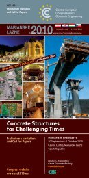 Concrete Structures for Challenging Times