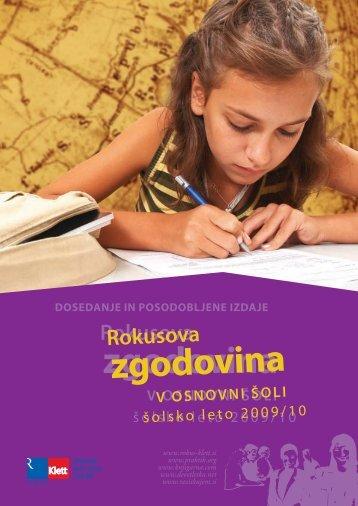 Rokusova zgodovina - predstavitveni katalog za Å¡olsko leto 2009/10