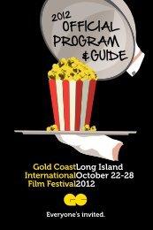 CELEBRATE YOUR BRAND - Gold Coast International Film Festival