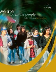 City of Winnipeg 2002 Annual Report