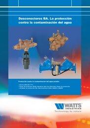 Folleto desconectores - Watts Industries