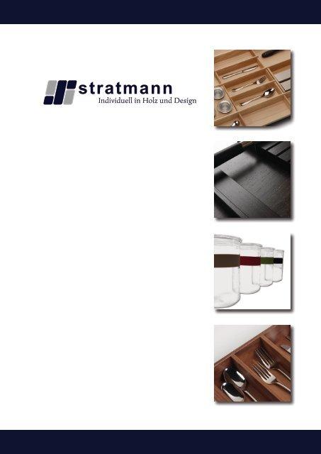 Katalog 2014 - stratmann Individuell in Holz und Design