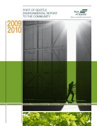 port of seattle environmental report to the community