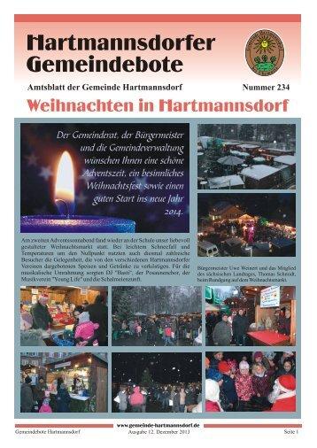 Ausgabe Dezember 2013 (pdf 6.2 MB) - Gemeinde Hartmannsdorf