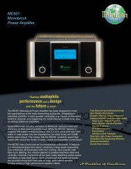 Product Brochure [pdf] - Audio Classics