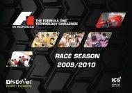 RACE SEASON - F1 in Schools