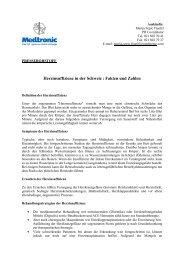 Herzinsuffizienz in der Schweiz : Fakten und Zahlen - Medtronic