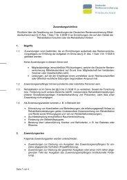 Zuwendungsrichtlinie Richtlinie über die Gewährung von ... - TLS
