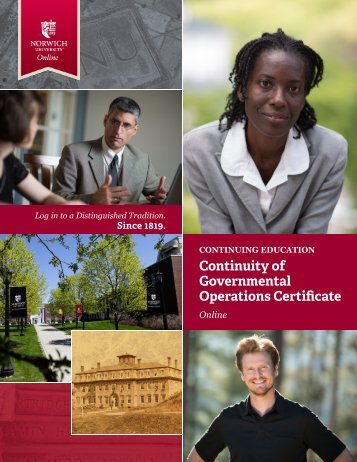 to download the brochure. - Norwich University Online