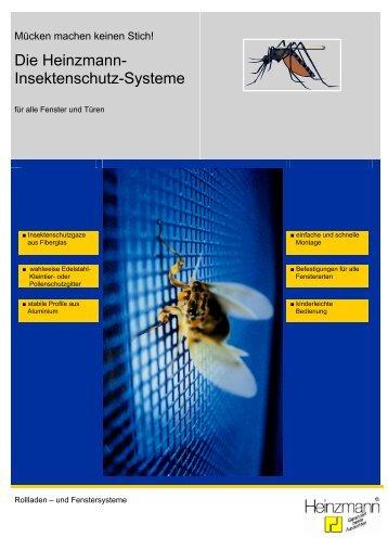 Insektenschutz - Heinzmann