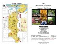 The Arboretum Foundation Volunteer Handbook