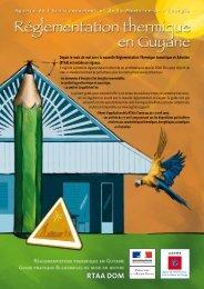 Page de garde - ADEME Guyane