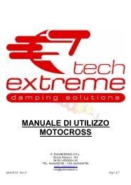 MX TECH3R - ITA manual - Extreme Racing Shox