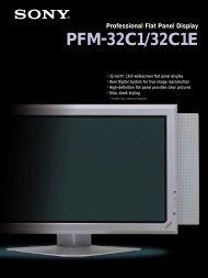 SONY PFM32C1