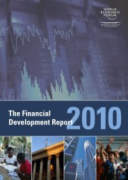 The Financial Development Report - World Economic Forum