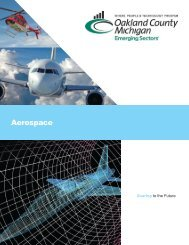 Aerospace - Economic Development and Community Affairs