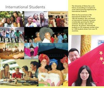 International Students - University of Ghana