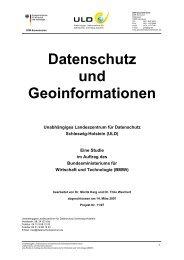 Datenschutz-und-Geoinformationen