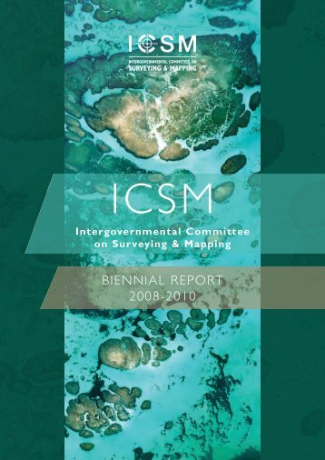 biennial report 2008-2010 - The Intergovernmental Committee on ...