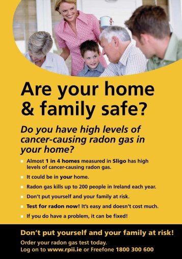 Are your home & family safe? - Radiological Protection Institute of ...