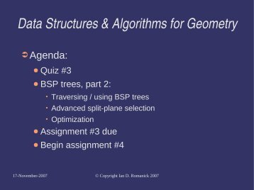 Lecture slides. - FreeDesktop.Org