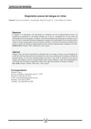 Diagnóstico precoz del dengue en niños - Revista EXPERIENCIA ...