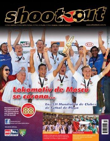 Lokomotiv de Moscú se corona... - Shootout. Futbol Alternativo