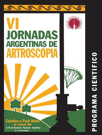 8 . 9. 10 de Octubre - Asociación Argentina de Artroscopía