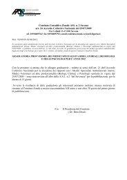 Comitato Consultivo Zonale ASL n. 2 Savona art. 24 Accordo ...