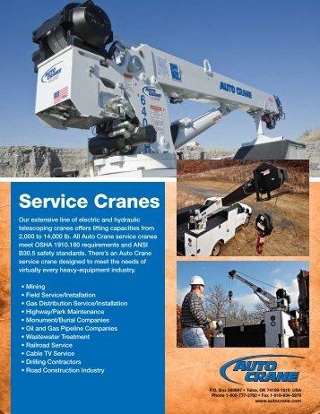 Service Cranes