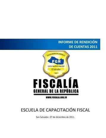 RendicionCuentas-ECF.. - Escuela de Capacitación Fiscal - Fiscalía ...