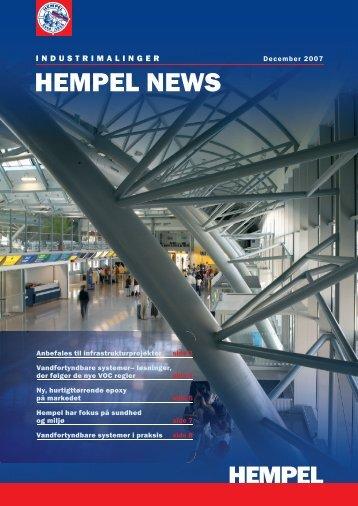 HEMPEL NEWS