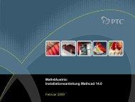 MathCAD 14 Installationsanleitung für Schüler und ... - ARGE 3D-CAD