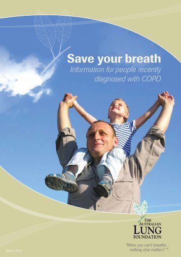 Save your breath - Lung Foundation