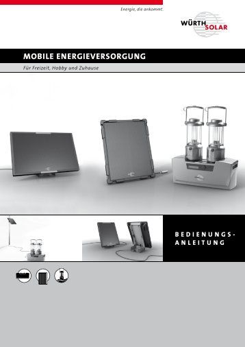 MOBILE ENERGIEVERSORGUNG - Solarbag-Shop