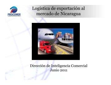 Logística de exportación al mercado de Nicaragua - Procomer